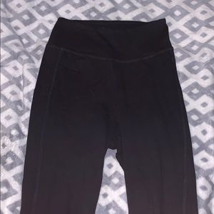 Black Capri leggings high rise
